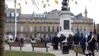 preview picture of video 'Remembrance Day Newcastle Upon Tyne 2014'
