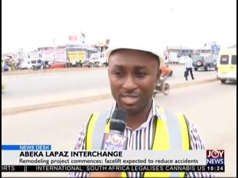 Abeka Lapaz Interchange - News Desk on JoyNews (19-9-18)