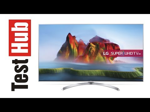 LG SUPER UHD 4K 55SJ810V - prezentacja, test