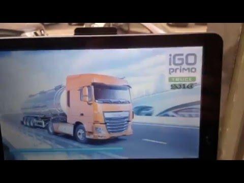 Navigatore per camion e camper 7 pollici con film in HD
