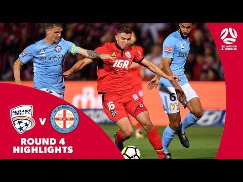 Hyundai A-League 2017/18 Round 4: Adelaide United 0 – 2 Melbourne City