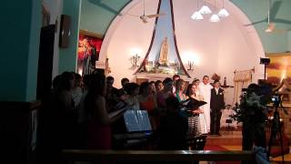 preview picture of video 'CORO POLIFONICO SENSUS AETERNUS DE VILLARRICA - SOMEWHERE ONLY WE KNOW'
