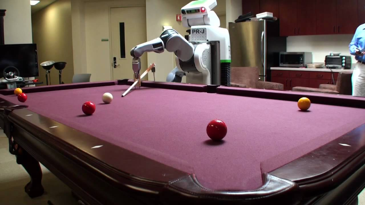 Watch The PR2 Robot Hustle Some Serious Pool