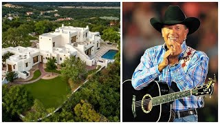 Tour George Straits Mansion In Texas