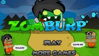 Zomburp Walkthrough [ Full, All Levels 1-24, All Stars ] - New Physics Games