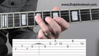Billy Gibbons style lick