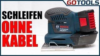 Bosch GSS 18V-10 - Kabelloser kompakter Schwingschleifer für jede Situation