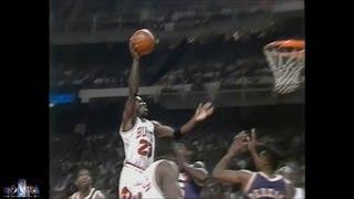 Michael Jordan Offense Highlights 1991,1992 Finals