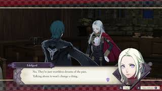 Fire Emblem Three Houses - Chapter 5: Visit Edelgard (Her Past & Nightmares) Support Level C (2019)