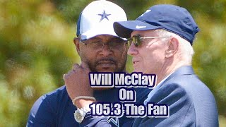 Will McClay Answers Tough Questions on 105.3 The Fan **Must Listen**