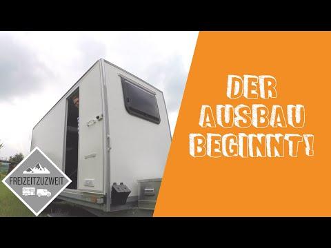 Wie alles begann | Ausbau Kofferanhänger zum Camper • Vlog 1
