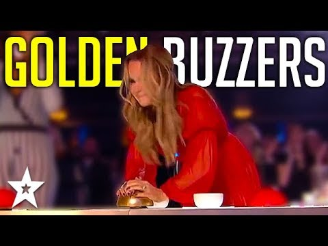 Judges GOLDEN BUZZERS | Amanda Holden's Top Moments On Britain's Got Talent! | Got Talent Global (видео)