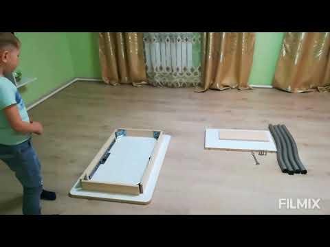 Как собрать новый раздвижной стол