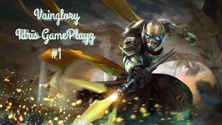 Idris Gameplay #1 | Vainglory