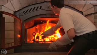 How to use your NZ6000 Wood Burning Fireplace from Napoleon