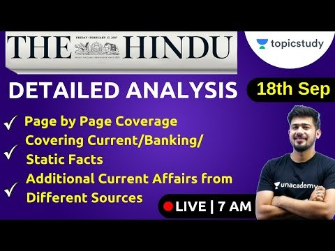 7:00 AM - Current Affairs Show by Kush Sir | 18 Sept 2019 | UPSC, SSC, Railways, UP SI