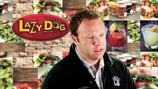 CEO Centerfold - Christopher S. Simms, Lazy Dog Cafe - June 2012