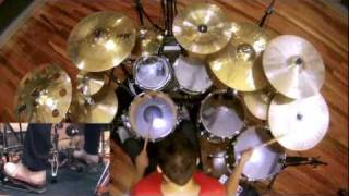 Dream Theater - On the Backs of Angels - Drum Cover by Troy Wright