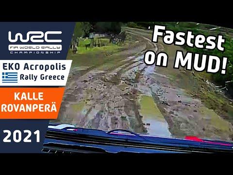 WRC 2021 ラリー・ギリシャ トヨタのロバンペラのオンボード動画