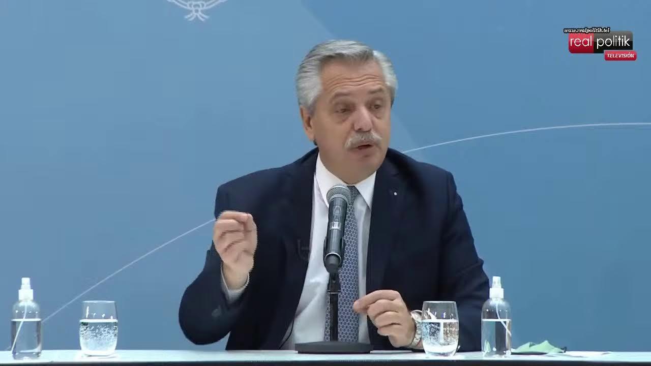 """Alberto Fernández, luego de la caída en las PASO: """"Vamos a corregir lo que se haya hecho mal"""""""