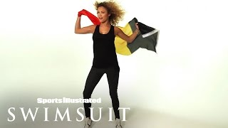 Learn French with Rose Bertram | Sports Illustrated Swimsuit