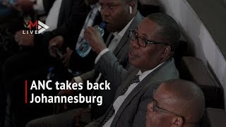 ANC takes back Joburg as Geoff Makhubo is elected mayor