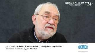 Po czym poznać profesjonalnego terapeutę - podpowiada dr med. B. Woronowicz