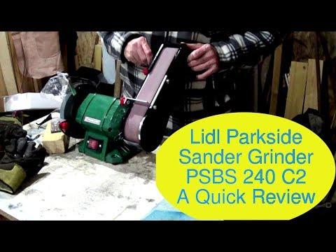 Lidl Parkside Sander Grinder PSBS 240 C2 Quick Review