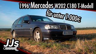 Test/Review 1996 Mercedes-Benz W202 C180 C-Klasse T-Modell - Der Einstieg mit Stern - JJsGarage