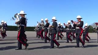 Royal Navy HMS Raleigh Cunningham Division Passing out