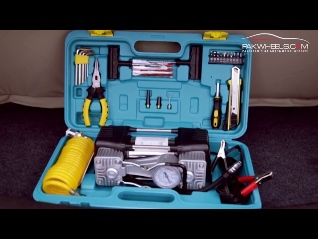 Double Cylinders Air Compressor With Complete Tool Kit in Lahore