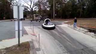 preview picture of video 'Air Pillow boat near Ebro FL'
