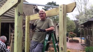 How To Build An Arbor - Son InLaw