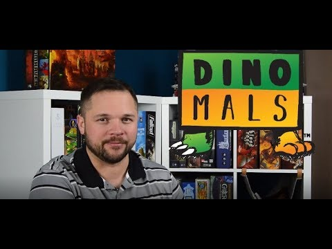 Dinomals The Card Game Review