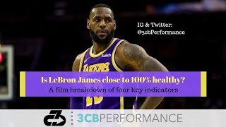 LeBron James: How close is he to 100% healthy for the Lakers playoff push?