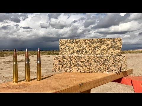 50CAL VS GRANITE
