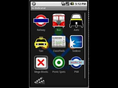 Vidéo m-Indicator- Indian Rail MSRTC