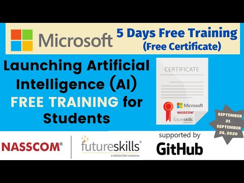 Microsoft Free Online Training With Certificate For STUDENTS ...