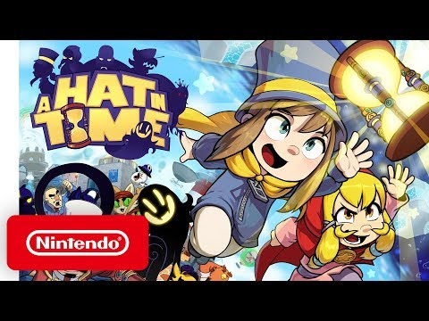 A Hat in Time - Release Date Reveal Trailer - Nintendo Switch