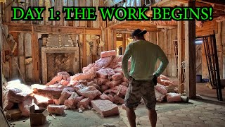 Renovating An Abandoned Mansion Part 1