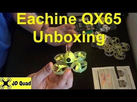 Eachine QX65 Unboxing - Courtesy of Banggood