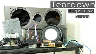 Look inside High-End class Center channel speaker - What's Inside?