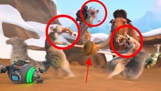Scrat VS Scrat VS Scrat! - Ice Age: No Time For Nuts 4-D