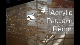 China CNC Router Machine Acrylic Cutting Interior Decoration Art Craft