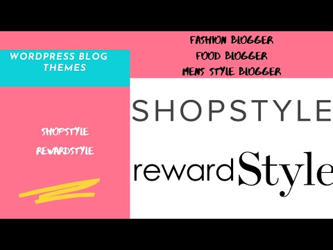 TREASURE TUESDAYS I Wordpress Themes for Rewardstyle & Shopstyle I Fashion Blogger I Food Blogger