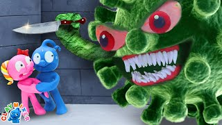 Tiny Should Be Quarantined At Home - Stop Motion Animation Short Film