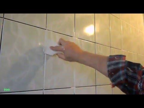 Правильная затирка швов кафеля / How to grout tiles: correct, the best technique makes it easier