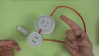 ПОДРОБНЫЙ ОБЗОР Xiaomi MiJia Power Inverter Car ► инвертер Сяоми / 220 В для автомобиля