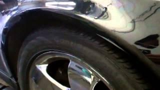 2003 Mercedes E320 Right Front Suspension Airmatic Strut Leak