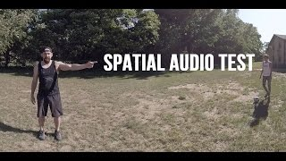 Spatial Audio Test with Zoom H2n Mic